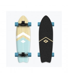 Hydroponic Surfskate Light Blue