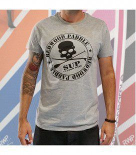 Redwoodpaddle Tee Gris