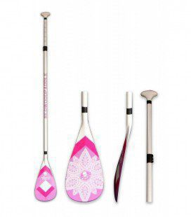 Remo SUP Player Ajustable White Pink