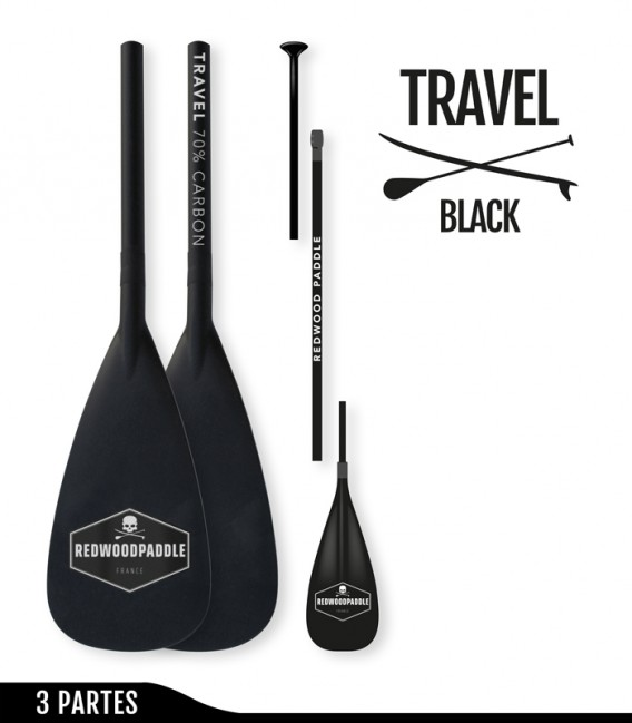 Travel Ajustable 3 Partes Black