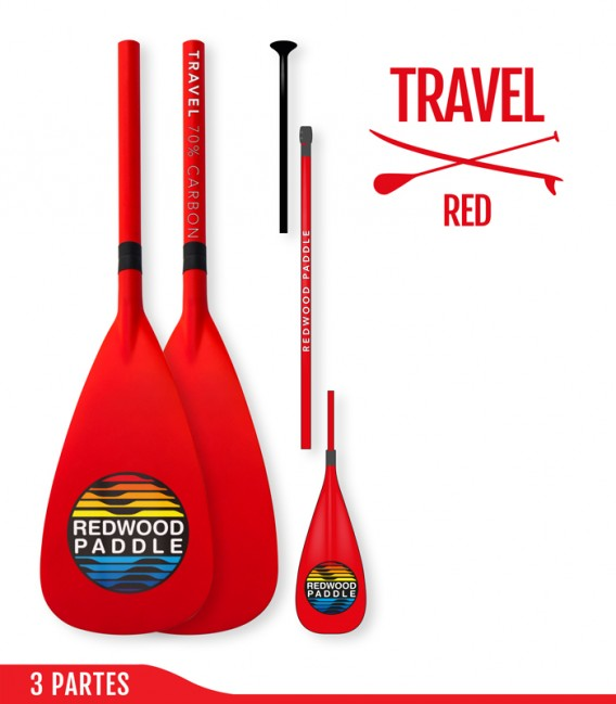 Travel Ajustable 3 Partes Red