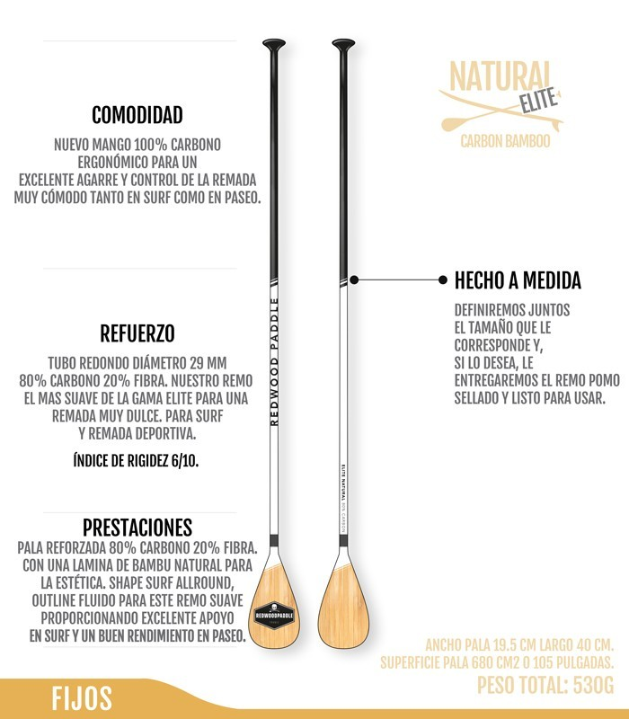 Elite Carbono Bamboo Natural
