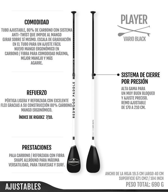 Player Ajustable Black