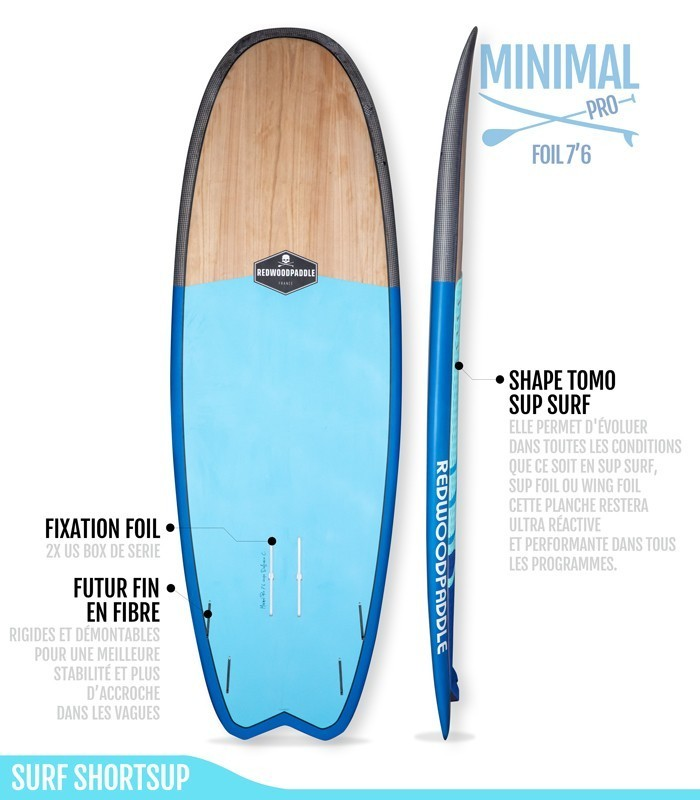 Minimal Pro 7′6 Wood Carbon