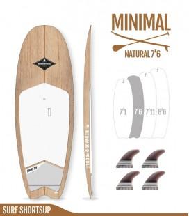 Minimal Natural Wood 7′6