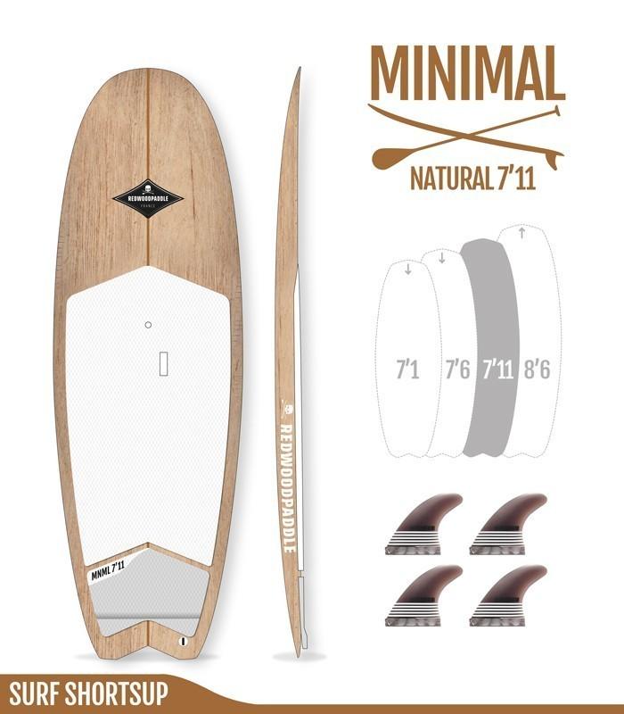 Minimal Natural Wood 7′11