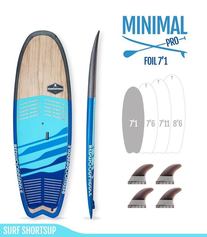 Minimal Foil Pro Wood Carbon
